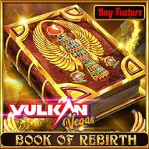 VulkanVegas Book of Rebirth